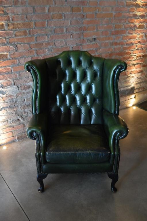 Poltrona Chester verde